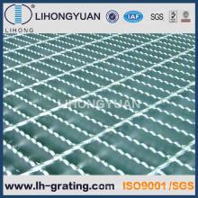 Reja de acero serrada galvanizada para proyecto de estructura de acero