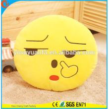 Горячая распродажа Новинка дизайн милый эмоция плюшевые смайлики подушку с выражением лица