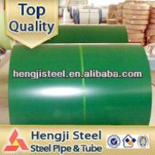 Metal Cobertura de bobina de acero de color / hoja / ppgi bobinas lista de precios