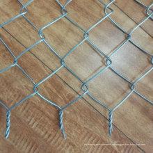 Niedriger Preis Schwarzer PVC-überzogener Kettenglied-Zaun
