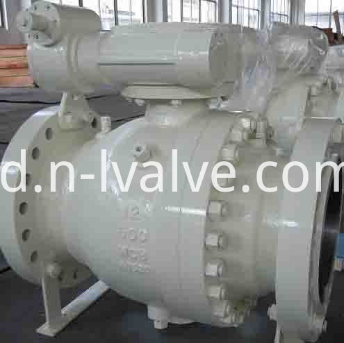 Class 600 Casted Trunion Ball Valve
