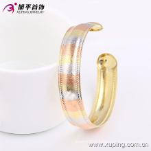 51399 способа Xuping Королевский имитация ювелирных изделий многоцветный браслет с тремя камнями цвета латуни и сплава