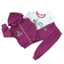 Hoodies da camisola do algodão da forma do lazer na roupa das crianças para ternos Swg-108 do esporte