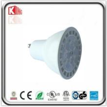 7W SMD LED GU10 MR16 E26 Spot mit weißen Gehäuse