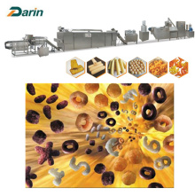 Stainless Steel Material Puff Snack Extruding Line