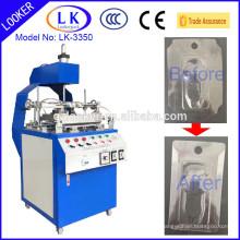 Máquina de dobramento da borda plástica de Guangzhou LK-3350 for sale