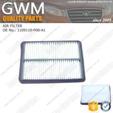 OE gran pared repuestos filtro de aire 1109110-P00-A1