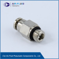 Air-Fluid Pneumatic Adaptor BSPP Male to Push-fit