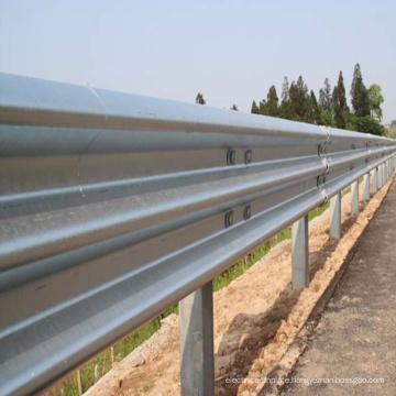 steel beam highway guardrail