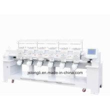 С 12 иглами 6 головок Tubular Embroidery Machine