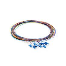 Cabo de fibra pigtail codificado por cores LC