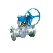 Metal Edge Sleeve Type Soft Sealing Plug Valve