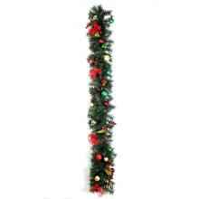 Decorações de garimpe de pinho de Natal de 1,8 m