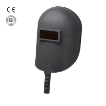 Industrial safety plastic hand hold helmet welding