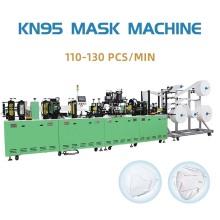Medical N95 Ultrasonic Earloop Welding Mask Making Machine