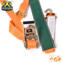 Vente chaude Orange Tie Down Cliquet Set Ratchet sangles sangles