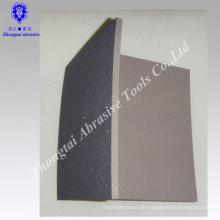 Aluminiumschliff mit Kursdichte 125x100x12 mm Schleifschwamm
