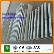 ISO9001 Plantilla de aleación de aluminio para la construcción (fabricante de Anping China)