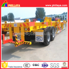 Terminal Trailer Container Yard Chassis with 40-60ton Capacity