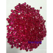 Jewelry Parts-Synthetic Ruby Gemstone Cabochon