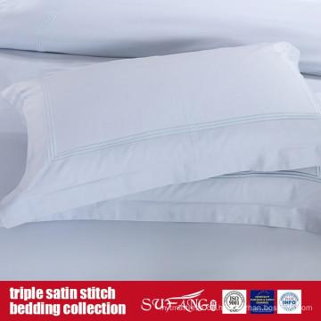 Triple Satinstich Bettwäsche-Set Klassisches Design