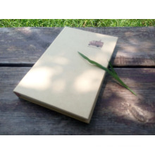 Eco-Friendly Wholesale Fancy Cheap Custom Hardcover Kraft Paper Notebooks