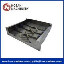 Resistant Metal Machine Slideway Protective Bellows Shield