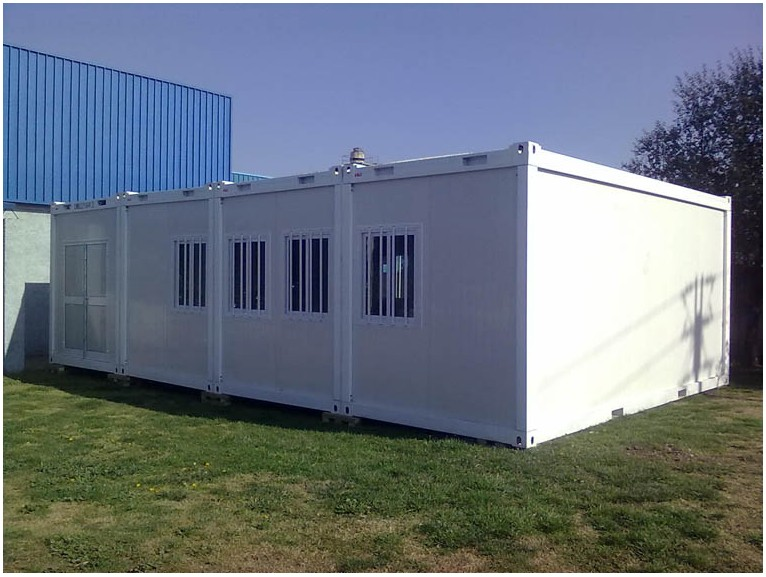 Modern Prefabricated houses 20 ft prefab container office