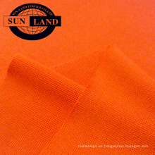 Camiseta deportiva cuello tejido poliéster 3 spandex 3 spandex 1x1 tejido de punto