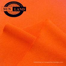 camisa de esportes neck97 poliéster 3 spandex 1x1 costela tecido de malha