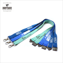 Factory Direct Polyester Cheap Custom Lanyards