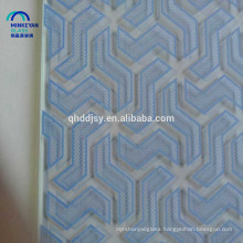 China silk screen print decorative glass ,custom design glass pattern
