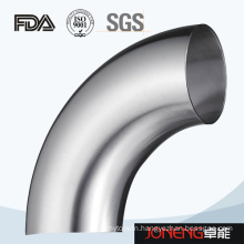 Stainless Steel Food Grade 90d 3A Elbow Pipe Fittings (JN-FT2008)