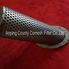304 Stainless Steel Perforated Filter Tubes