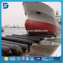 De boa qualidade Tubos de flutuação de flutuação do pontão da borracha natural para o salvamento do navio