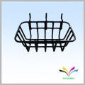 Best selling modern floor durable chrome plated metal wire bathroom rack