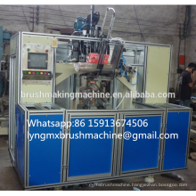 5 axis 2 drilling and 1 tufting broom making machine