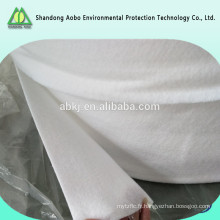 Feutre non-tissé perforé de polyester de coton d'aiguille pour des masques de protection de la poussière