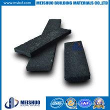 Black Carborundum Insert Stair Nosing (aluminium extrudé)