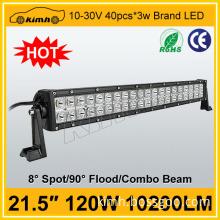 "Car part 21.5"" led light bar for mine vehicles 120W"