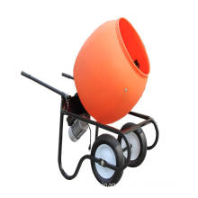portable concrete mixer with 6cuft poly drum
