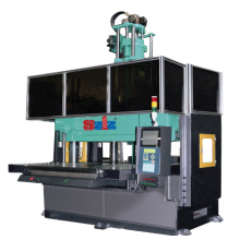 Large scale two platen injection machine
