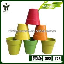 Fibra biodegradable de la planta del pote de flor del pote del jardín de Eco friendly
