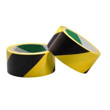 Palavras impressas em preto amarelo - Cuidado Gaffer - Tecido de duto de malha personalizada Fita de advertência