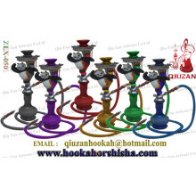 Novo design colorido Hookah médio com tubulação de forma Panda