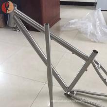 peso leve quadro de dobramento da bicicleta da bicicleta do tamanho completo de Gr9 3AL2.5V para venda