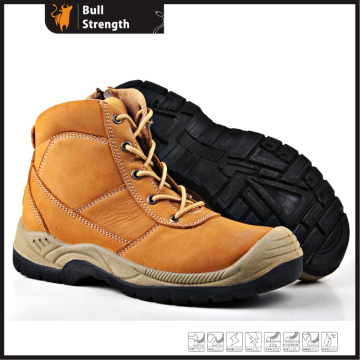 Genuine Leather Safety Footwear with Steel Toe (SN5272)