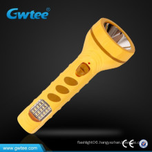 Chinese style high power rechargeable led flashlight