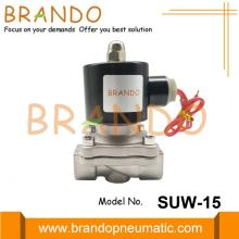 1/2 '' SS304 NC SUW-15 UNID tipo válvula solenóide