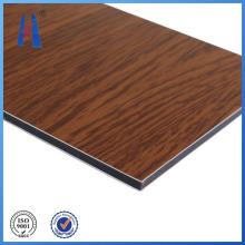 Revestimento de parede de painel de madeira Material de construção de interiores